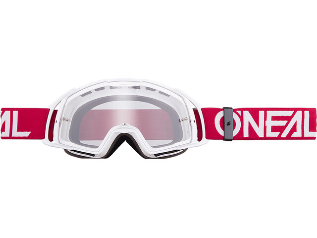 ONeal B-20 Goggle FLAT ruby red/white-clear
